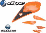 Color kit Rotor orange