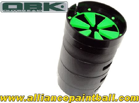 Outbreak A5 Adapter Cap modulable (Tac Cap) Speed feed green