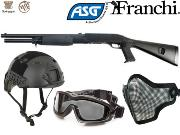 Full Package Airsoft Franchi SAS 12 - 3 Shots
