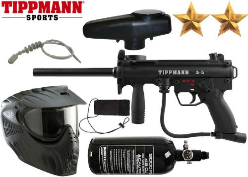 Pack Tippmann A5 Egrip air comprimé