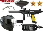 Pack Tippmann FT-12 black yellow air comprimé