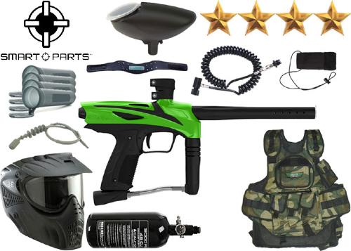 Battle Pack Smart Parts GOG eNMey freak green air comprimé + 500 billes offertes
