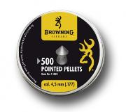 500 plombs Browning cal 4.5 tête pointue