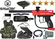 Battle Pack Spyder Victor gloss red air comprimé