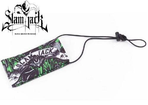 Slam Jack barrel cover Black Roses lime
