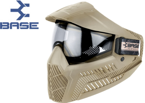 Masque Paintball Base GS-O thermal tan