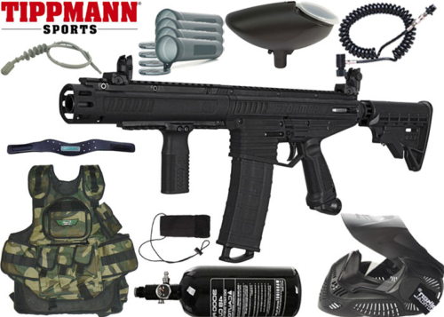 Battle Pack Tippmann Stormer Dual Feed Elite air comprimé