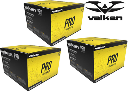 Lot de 3 cartons de 2000 billes Valken Redemption Pro