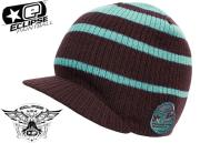 Planet Eclipse beanie Tide visor dusk