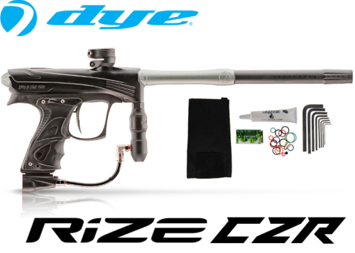 Dye Rize CZR - black grey