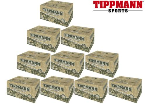 Lot de 10 cartons de 2000 billes Tippmann Combat