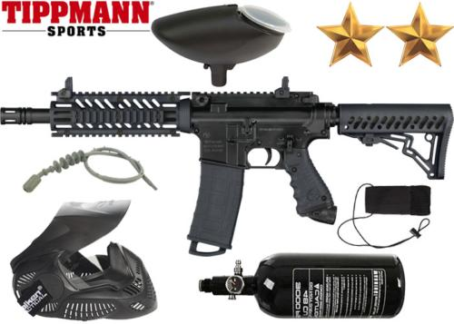 Pack Tippmann TMC black air comprimé