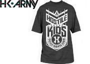 Tee-shirt HK Nuke charcoal heather - M