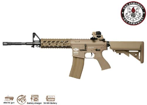 Réplique Airsoft CM16 Raider long Tan
