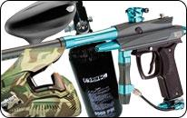 Packs lanceurs paintball complets