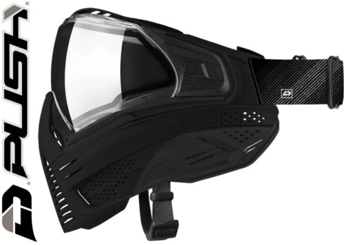 Masque Paintball Push Unite Base Model - black