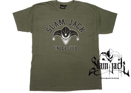 Tee-shirt Slam Jack Unleshead jungle - M