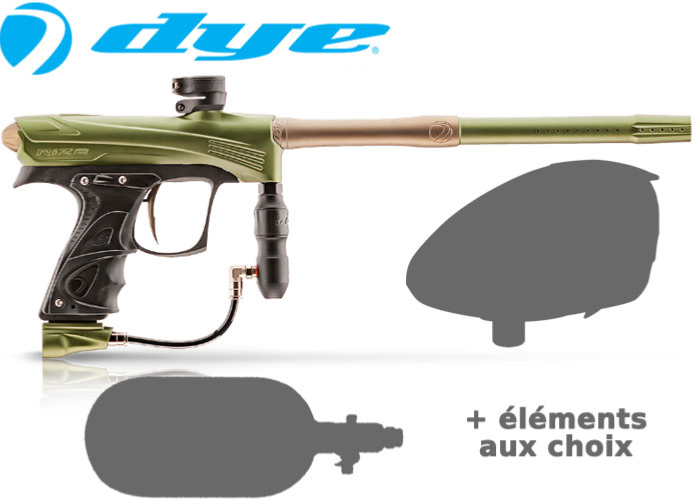 Tournament Pack Dye Rize CZR - olive tan