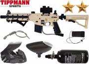 Pack Tippmann US Army Sierra One Warfare tan air comprimé