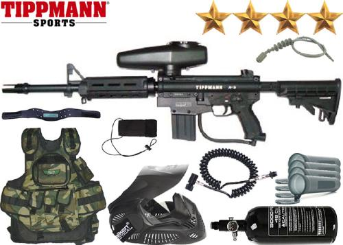 Battle Pack Tippmann A5 Full M4 air comprimé