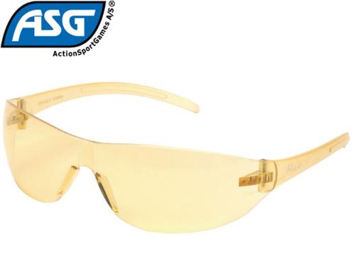 Lunettes protection airsoft jaunes
