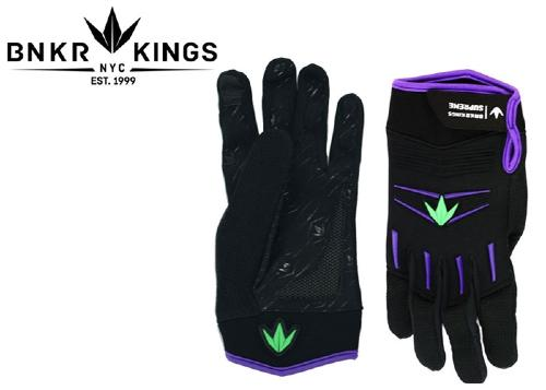 Gants Bunkerking Supreme - Purple white - L/XL