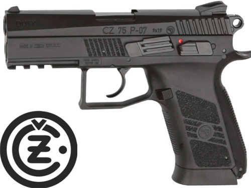 Réplique Airsoft CZ 75 P07 Duty GBB Co2
