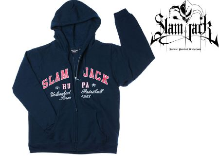 Slam Jack College Zip Sweat taille S