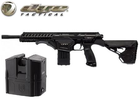 Dye Tactical DAM black + Rotor box