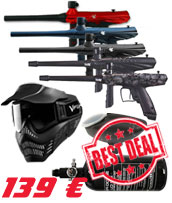 Pack Paintball Tippmann Gryphon