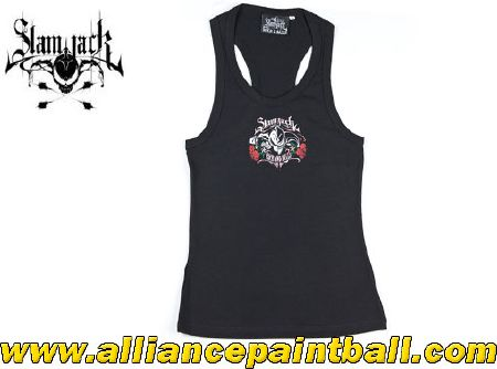 Slam Jack Top Tank Girls Rock and Balls - taille S