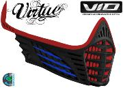 Facemask Virtue Vio - red / blue / black