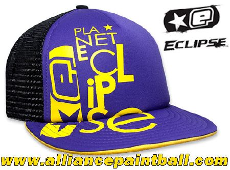 Casquette Planet Eclipse Txt cap purple
