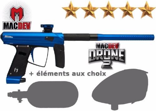 Tournament Pack MacDev Drone 2S - blue