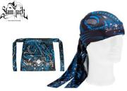 Head Wrap Slam Jack Biomeka blue