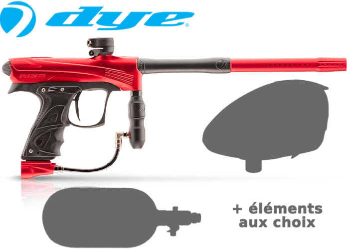 Tournament Pack Dye Rize CZR - red black