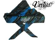 Headwrap Virtue padded - Graphic cyan/lime