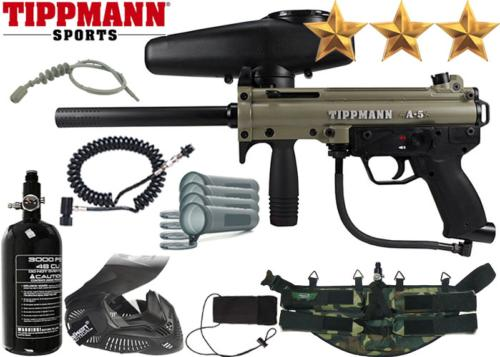 Ranger Pack Tippmann A5 Dark Earth air comprimé