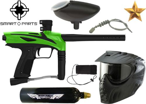 Pack Smarts Parts eNMey freak green Co2