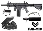 Player's pack Milsig M17 Elite black + 500 billes offertes
