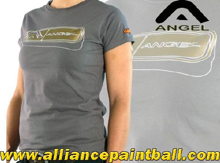 Angel Tee-shirt girl Tron charcoal taille L