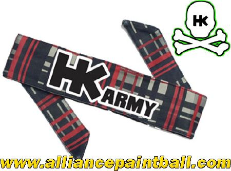 Headband HK Army Plaid grey