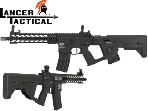 Réplique Airsoft Lancer tactical LT-34 Proline Gen 2 Enforcer Battle Hawk T2 black