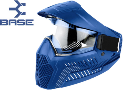 Masque Paintball Base GS-F-CC thermal blue
