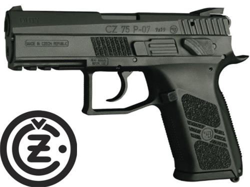 Réplique Airsoft CZ 75D P-07 Duty Co2