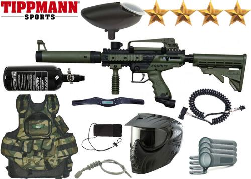 Battle Pack Tippmann Cronus Tactical black/olive air comprimé