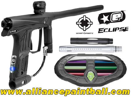 Planet Eclipse Etha black Total Freak Kit