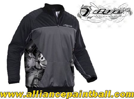 Jersey Dye Polar Winter black/grey taille XL/XXL