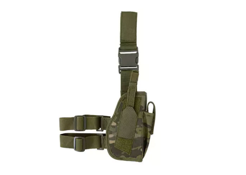 Holster de cuisse tactical universel - woodland droitier