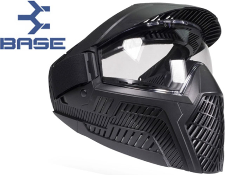 Masque Paintball Base GS-F-CC black